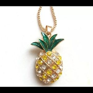 Betsey Johnson Pineapple 🍍 Necklace